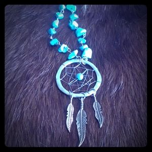 Jewelry - Long dream catcher necklace